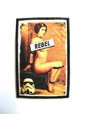 Leia Rebel Star Wars Patch Morale Militaire Tactique Armée Drapeau 7,6cm x 5cm