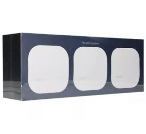 NEW! eero PRO  WiFi System (3 eeros) 2nd Generation White B010301  SEALED