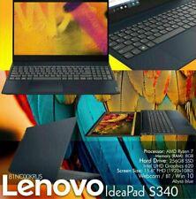 "New listing Lenovo IdeaPad S340 Laptop, 15.6"" , Amd Ryzen 7, 8Gb Memory, 256Gb Ssd 81Nc00Kru"