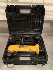 "DeWalt DW965 3/8"" VSR Cordless Right Angle Drill/Driver With 2 Batteries"