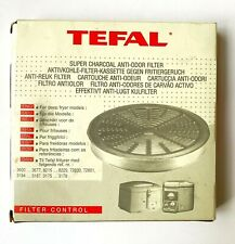 TEFAL Charcoal Filters 799859 for Fryers New Old Stock NOS 799 859
