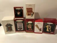 HALLMARK KEEPSAKE Ornaments lot of 7