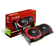 MSI GeForce GTX 1060 6 Go Gaming x Boost Carte graphique