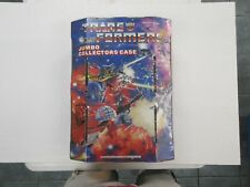 1984 G1 TRANSFORMERS JUMBO COLLECTOR'S CASE FOR ROBOT FIGURES