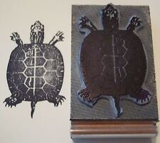 Primitive Turtle rubber stamp by Amazing Arts sharp!
