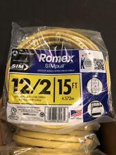 Romex 15 Ft. 12/2 Gauge Soild SIMpull NM-B Indoor Residential (28828226) *M2