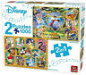 Disney 1000 Piece 2 In 1 Jigsaw Puzzle Princess Mickey Minnie Collection Set 920
