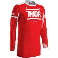 Vêtements de cross rouge Thor