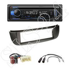 Kenwood KDC-120UB USB CD Radio + Nissan Almera Tino (V10) + ISO Adapter Set