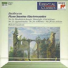 Klaviersonaten 14, 23, 24, 26 von Robert Casadesus | CD | Zustand sehr gut