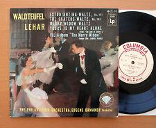 "Waldteufel Lehar Waltzes Eugene Ormandy Philadelphia 10"" Columbia Japan ZL-10"