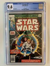 Star Wars 1977 1 CGC 9.6 - White Pages First Print Newsstand Marvel
