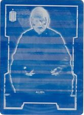Topps 2015 Doctor Who 97 Shakri Cyan Printing Plate 1/1 UNIQUE!