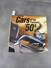 Dan Lyons Cars of the fantastic 50 s Automobile Américaine beau livre