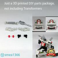 3D DIY upgrade KIT FOR War for transformer Cybertron EarthRise WheelJack 8PCS