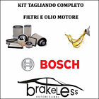 KIT D'ENTRETIEN 4 FILTRES BOSCH + HUILE CASTROL 5LT BMW SÉRIE 1 E87 >10 3 E90