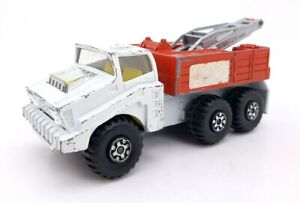 Vintage Matchbox Battle Kings K-110 Shell Recovery Vehicle Lesney Products ©1975