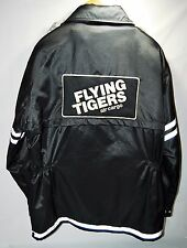 Vtg Flying Tigers Air Cargo Freight Uniform Jacket Airline Patches FedEx RARE