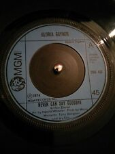 "Gloria Gaynor – Never Can Say Goodbye Vinyl 7"" Single UK MGM 1974"