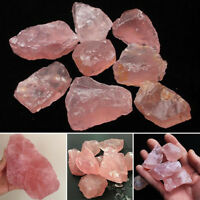 Pink Crystal Natural Quartz Stone 1Pc Rock Mineral Specimen Healing Collectible