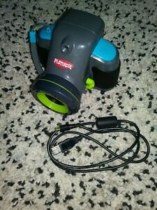 Playskool Showcam 2 In 1 Digital Camera & Projector & USB Cable Tested Gray Blue