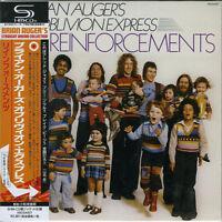 BRIAN AUGER'S OBLIVION EXPRESS-REINFORCEMENTS-JAPAN MINI LP SHM-CD F25