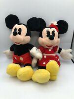 Official Walt Disney Mickey Minnie Mouse Pie Eyes Plush Soft Stuffed Toy Animal