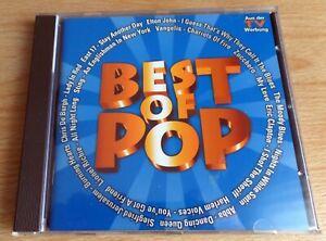 """CD """"Best of Pop"""" ABBA, Lionel Richie, de Burgh, Sting, Eric Clapton, Elton John"""