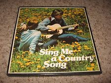 SING ME A COUNTRY SONG ~ COLUMBIA LABEL Box Set 6 LP's~ Great List of Artists