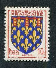 Timbre neuf FRANCE TB** YT n° 899 : Armoiries de Provinces : ARTOIS - 1951