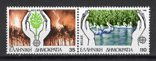 Europa Cept 1986 MNH Protection against forest fires Water Lake Prespes Se-ten.