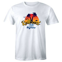 Retired Not My Problem Anymore Men's T-Shirt Tropical Retirement Vacation Shirt