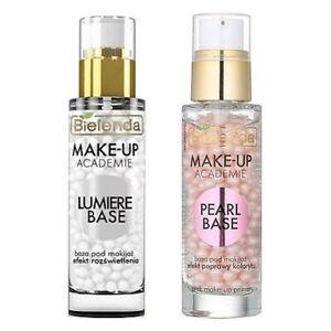 Bielenda Make Up Academie Base Make Up Primer 30g -  Pearl Lumiere