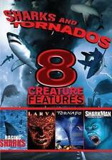 Sharks and Tornados: 8 Creature Features Movies (DVD, 2013) Grindhouse RARE