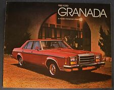 1980 Ford Granada Catalog Sales Brochure ESS Ghia Excellent Original 80