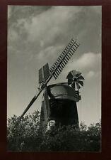 Cambs Cambridgeshire WILBRAHAM Windmill vintage RP PPC