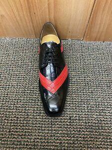Giorgio Brutini Black/Red Dress Shoes