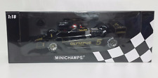 MINICHAMPS 1/18 MARIO ANDRETTI MODELLINO LOTUS FORD 79 F1 WORLD CHAMPION 1978