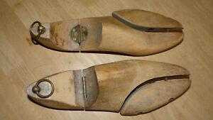 Pair Vintage Solid Wood Shoe Tree Shapers