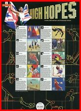 2011 High Hopes London 2012 Commemorative Sheet. Pack No Cs15. No 05385 of 10000