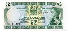 FIJI FIDJI Billet 2 DOLLARs ND (1968) P72a QUEEN ELIZABETH 2 NEUF UNC