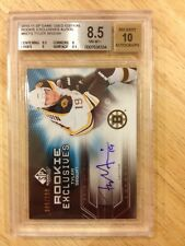 2010-11 SP GAME USED ROOKIE EXCLUSIVES AUTO BGS 8.5 TYLER SEGUIN 5/100 RC #RETS