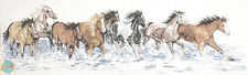 Cross Stitch Kit ~ Design Works Splashdown Horses Galloping in the Waves #DW2499