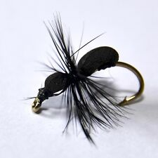 BLACK FOAM ANT Dry Fly Trout & Grayling fly Fishing flies by Dragonflies