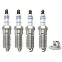 Spark Plugs x 4 Bosch Super Plus Fits Ford Focus Fiesta Ka Mondeo Puma Mazda Set