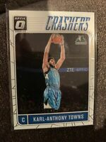 2016-17 Donruss Optic Crashers #8 Karl-Anthony Towns Minnesota Timberwolves