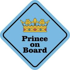 5in x 5in Prince on Board Magnet Car Truck Vehicle Magnetic Sign