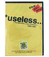 New Deal Skateboards Useless Wooden Toys 1281 Skate Videos 90-92 Collection Dvd