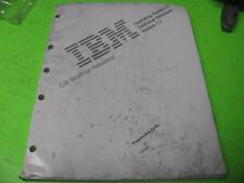 IBM OS/2 TECHNICAL REFERENCE VERSION 1.1 C/2 BINDINGS REFERENCE MANUAL GUIDE