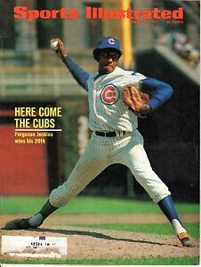 1971 8/30 Sports Illustrated baseball magazine Ferguson Jenkins, Chicago Cubs VG